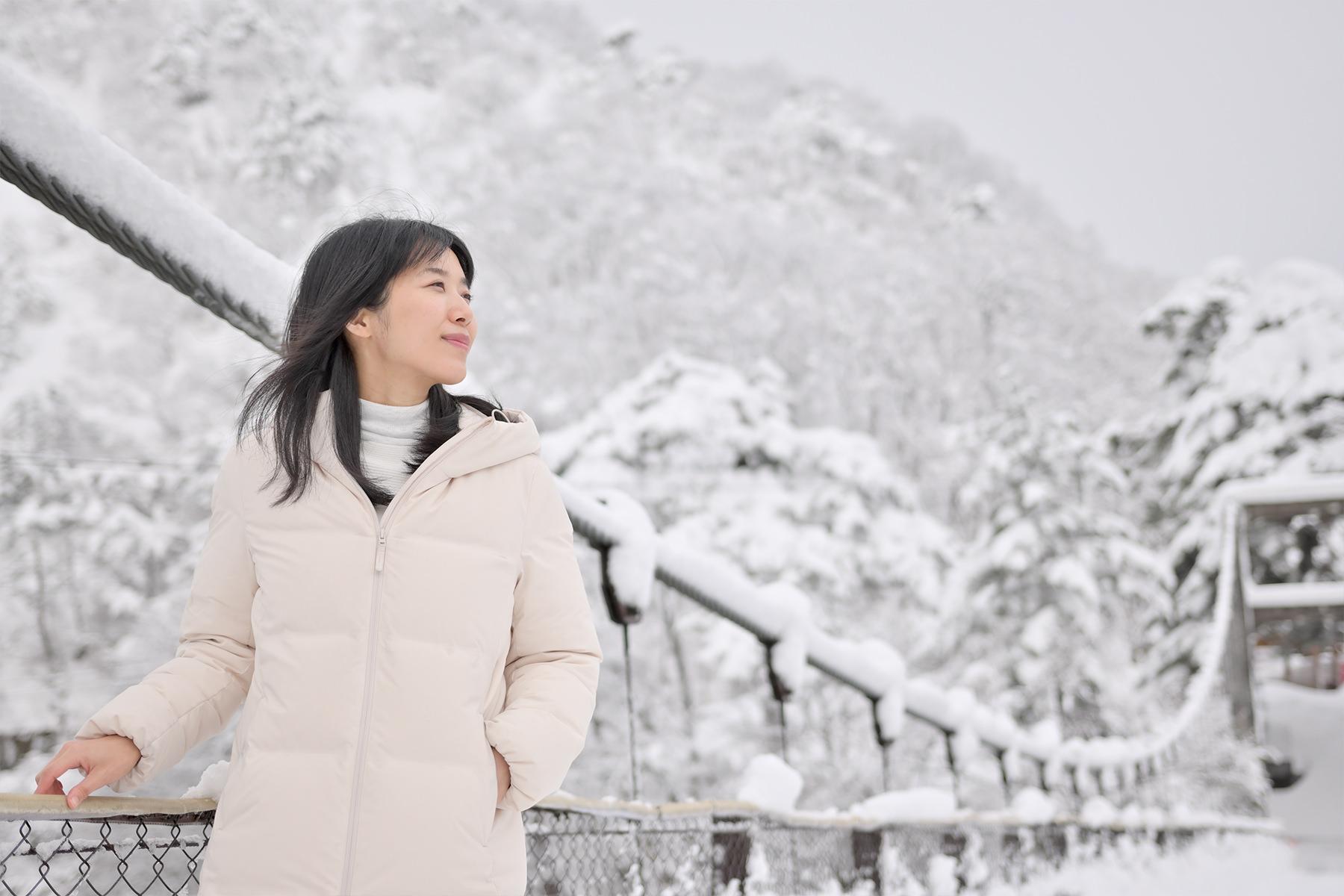 冬-6雪の吊り橋